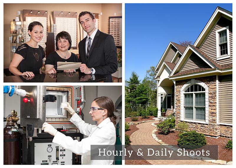 Hourly & Daily Photo Shoots