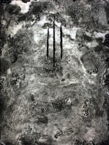 '6-3',Intaglio Print by Shae Meyer