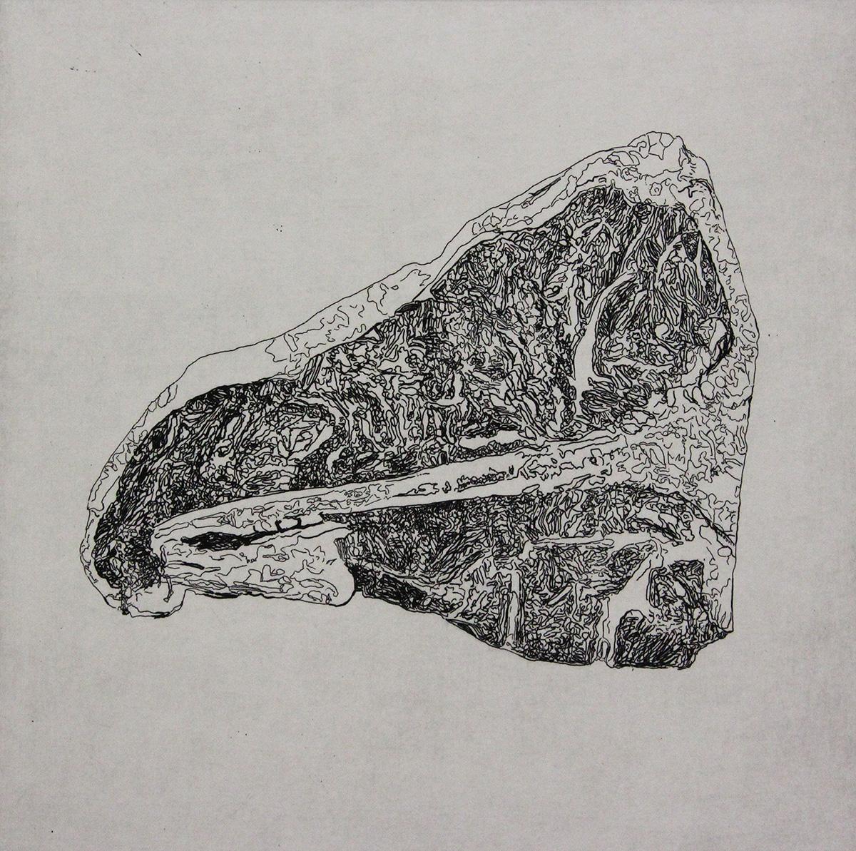 CP14 Intaglio Print by Evan Summer