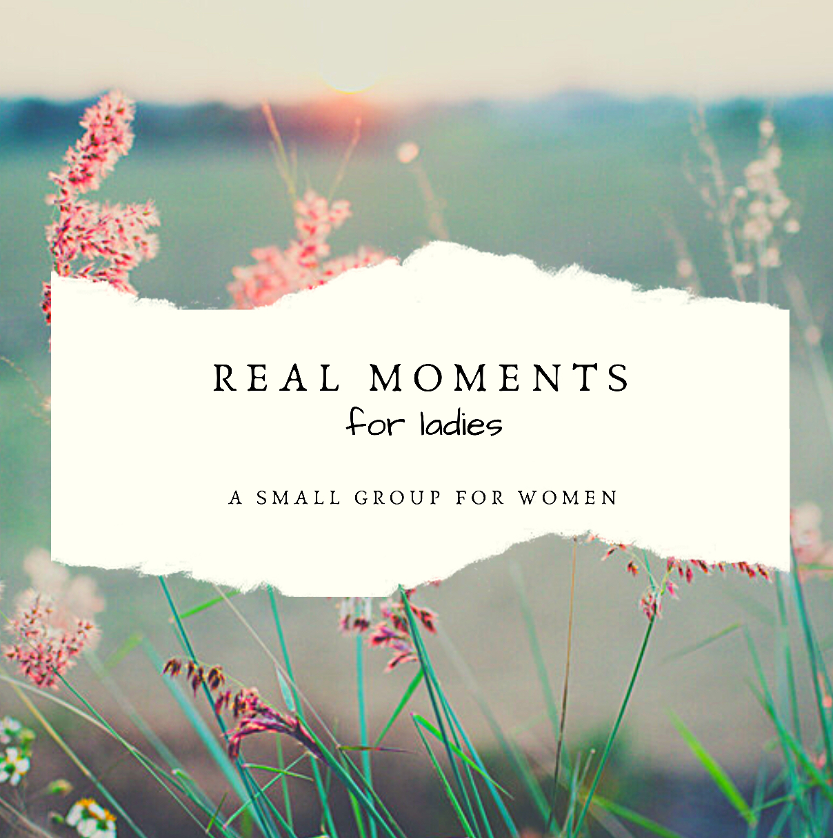 Real Moments is a Ladies small group lead by Nancy Diggs. At Real Moments, we are encouraged by The Word of God to be the women who Jesus created us to be! All women are invited to this time of fellowship.  Please bring a friend!