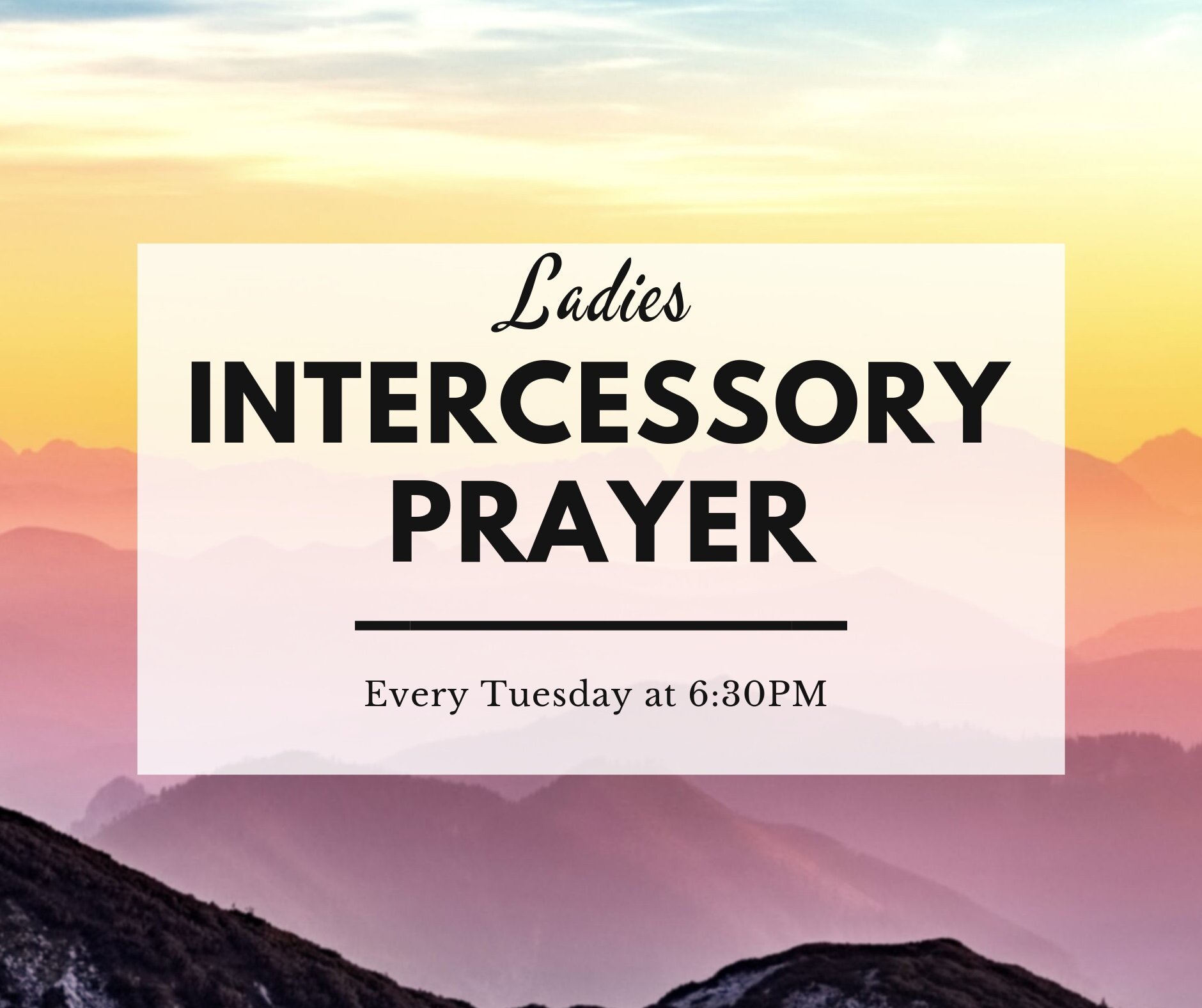 Every Tuesday night at 6:30PM, the women of Lakeshore come together to lift up the needs of the church in prayer. Join them for this powerful time in the presence of the Lord and see how God responds to the prayers of His children.