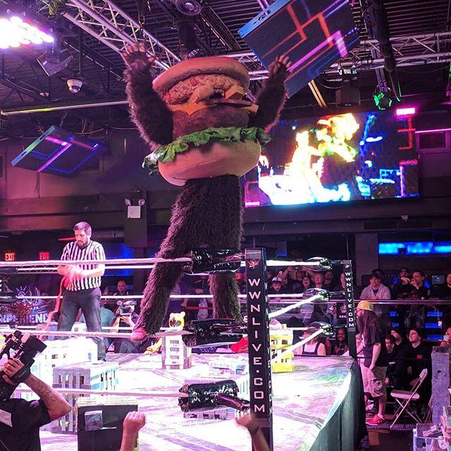 Wrestling is fun: Show #1 @kaijubigbattel