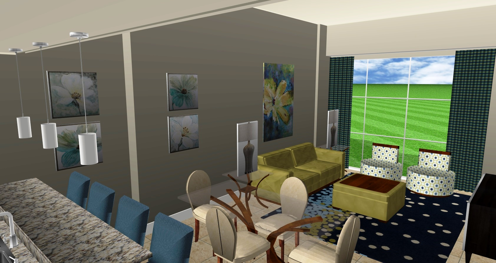 LIVING ROOM: CONCEPT