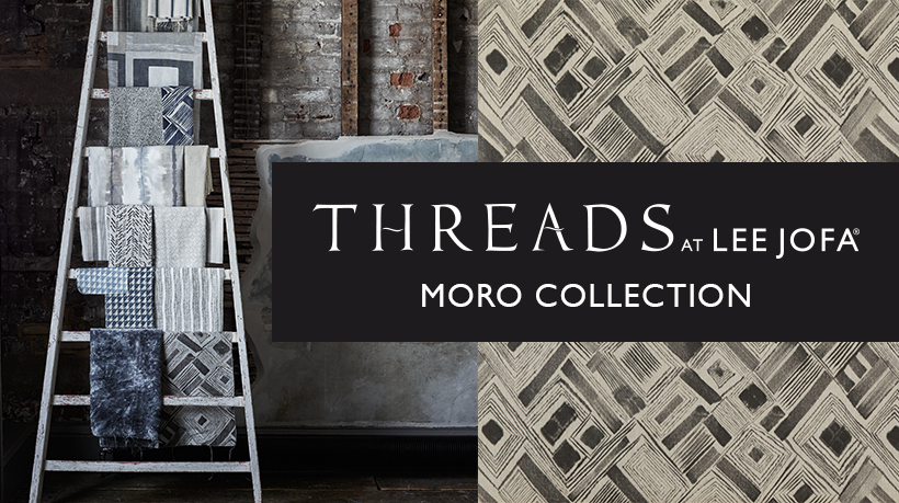 New luxurious fabric and wallpaper from the UK