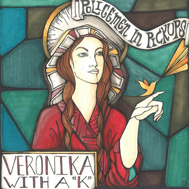 """We're so happy to finally share this with our friends! Our new song VERONIKA WITH A """"K"""" is now available. 🎉💥🎈🎧🎤🎸 Click the link in our profile to hear it for FREE. You can also get it on iTunes, Spotify, Soundcloud, Bandcamp, or anywhere else you listen to music. #newmusic #veronika #rocknroll #partytime #indie"""