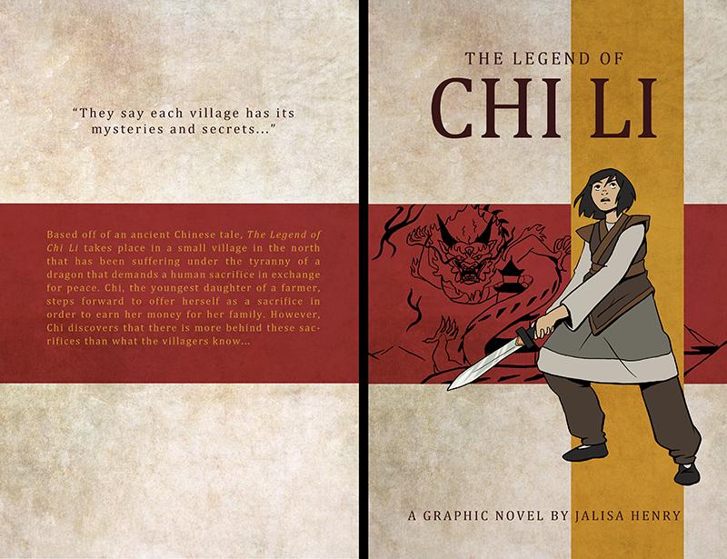 The Legend of Chi Li - Book Cover