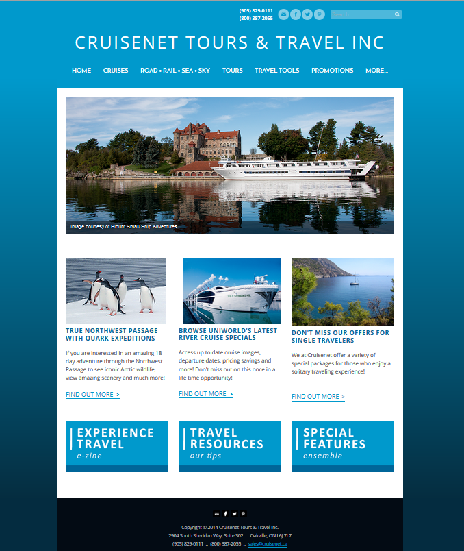 Cruisenet Home Page