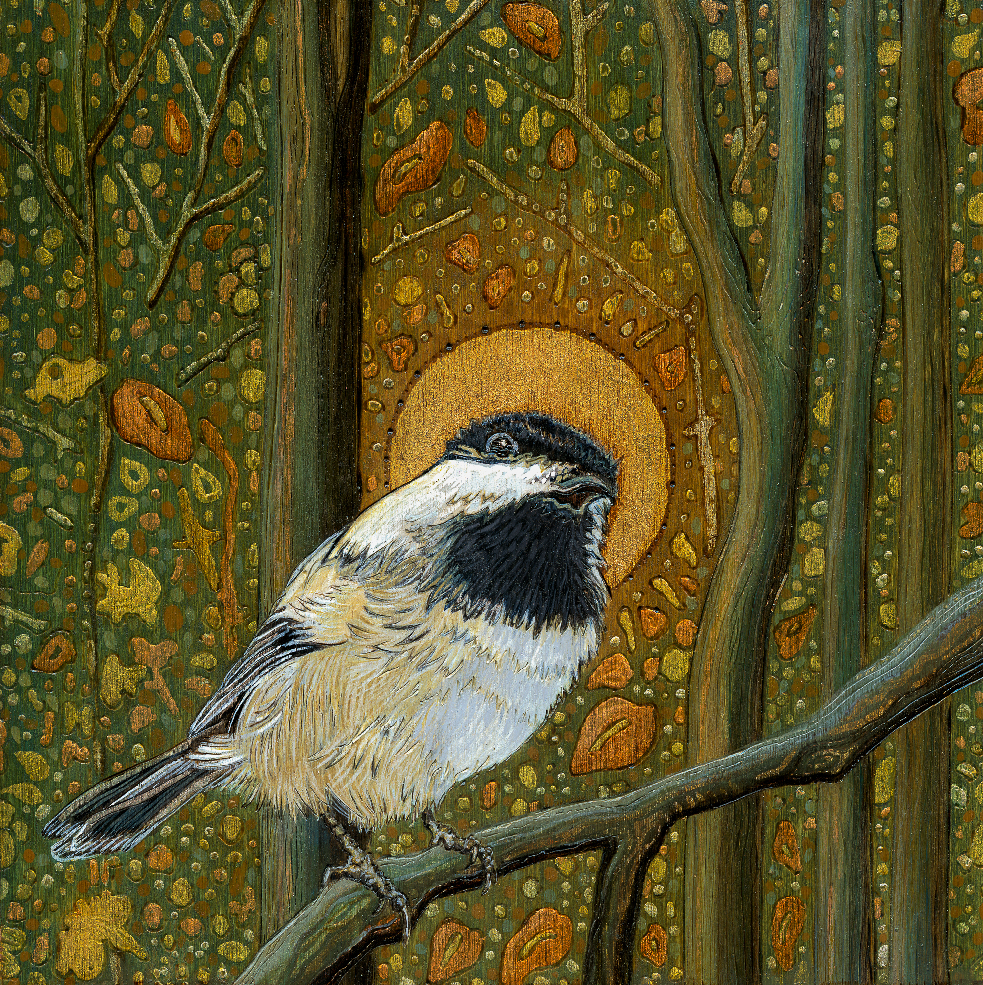 Sold - Chickadee - Prints For Sale