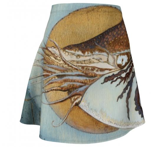 St Nautilus Flare Skirt