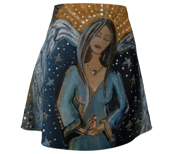 Night Angel Flare Skirt