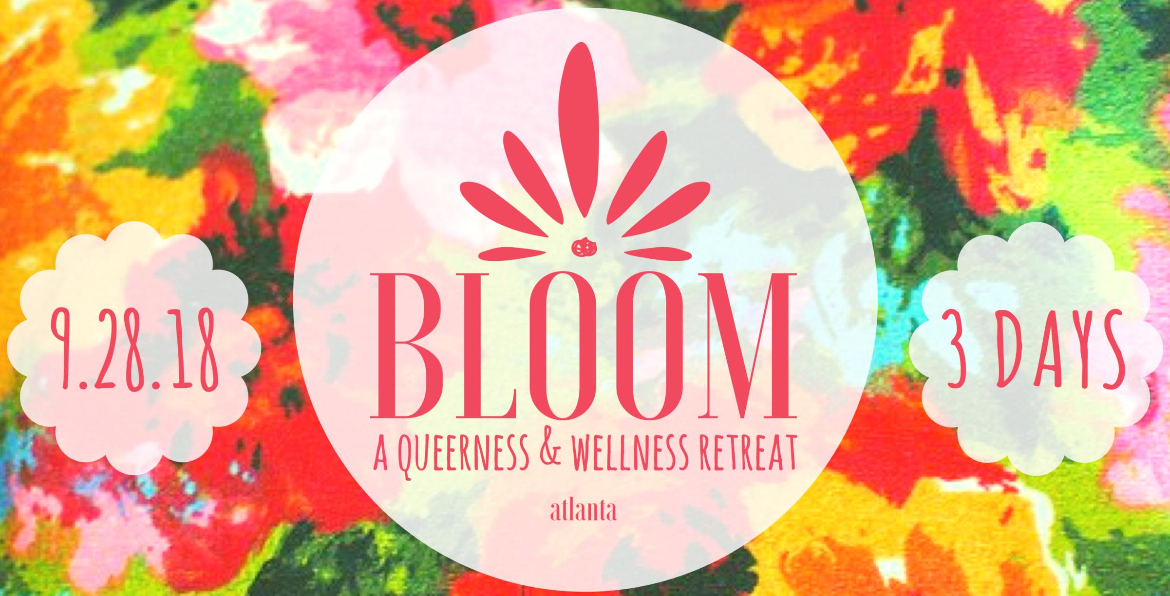 BLOOM queer yoga retreat atlanta