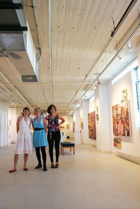 Tender Reuptake   Meg Fransee, Meghan Allyn Johnson, & Millie Rose @ Common Wealth Gallery, Madison, WI, 2011.