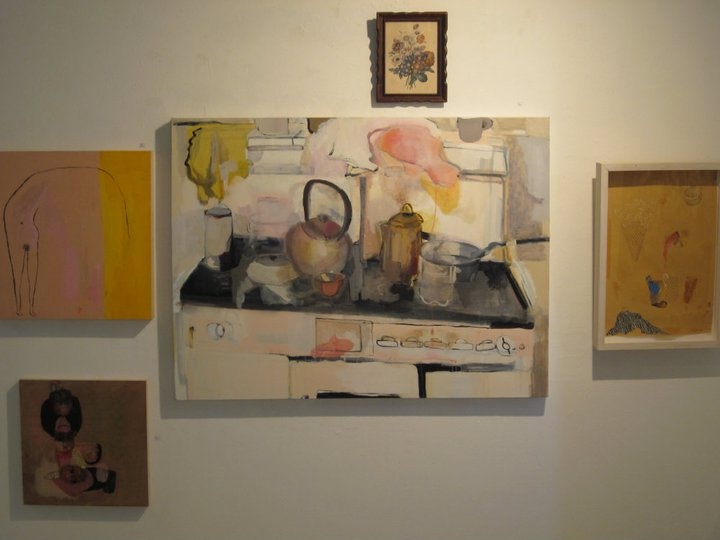 Tender Reuptake   Meg Fransee, Meghan Allyn Johnson, & Millie Rose @ Common Wealth Gallery, Madison, WI, 2011.