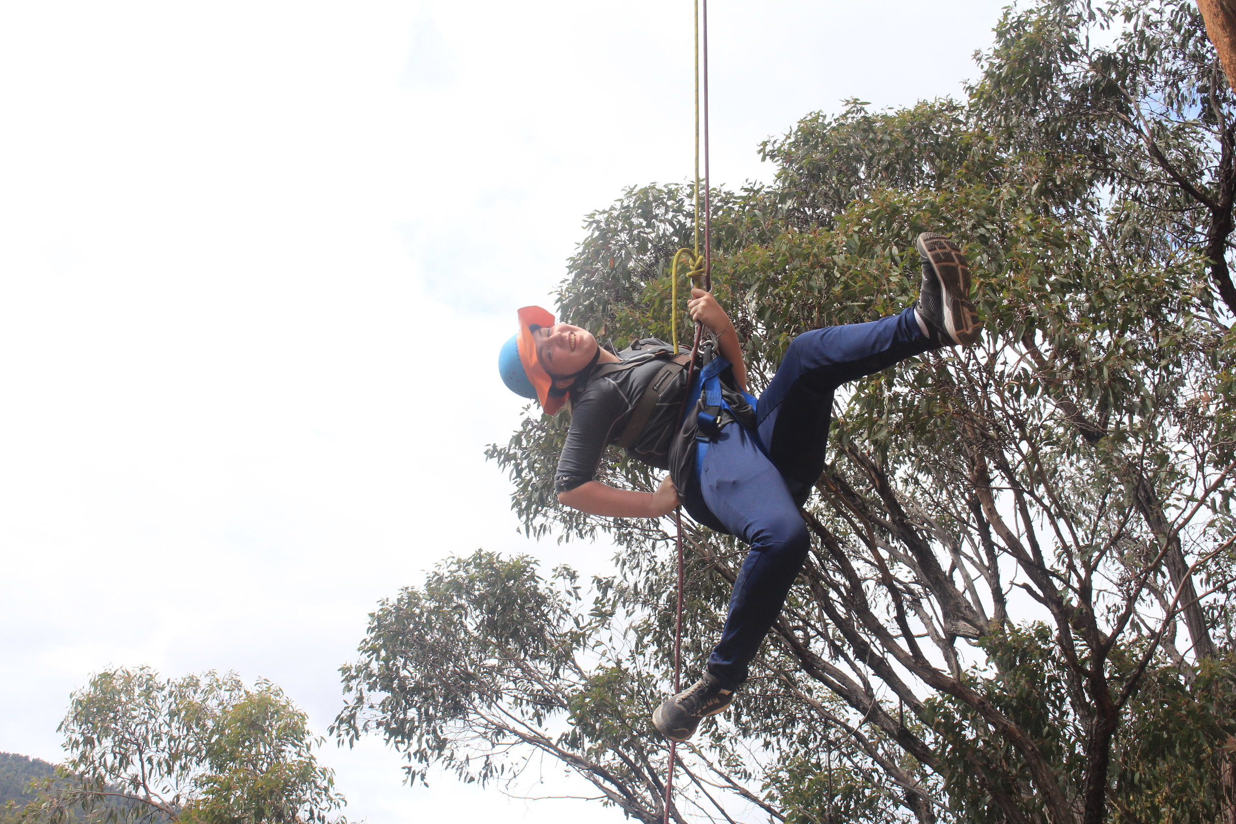 Abseiling magic