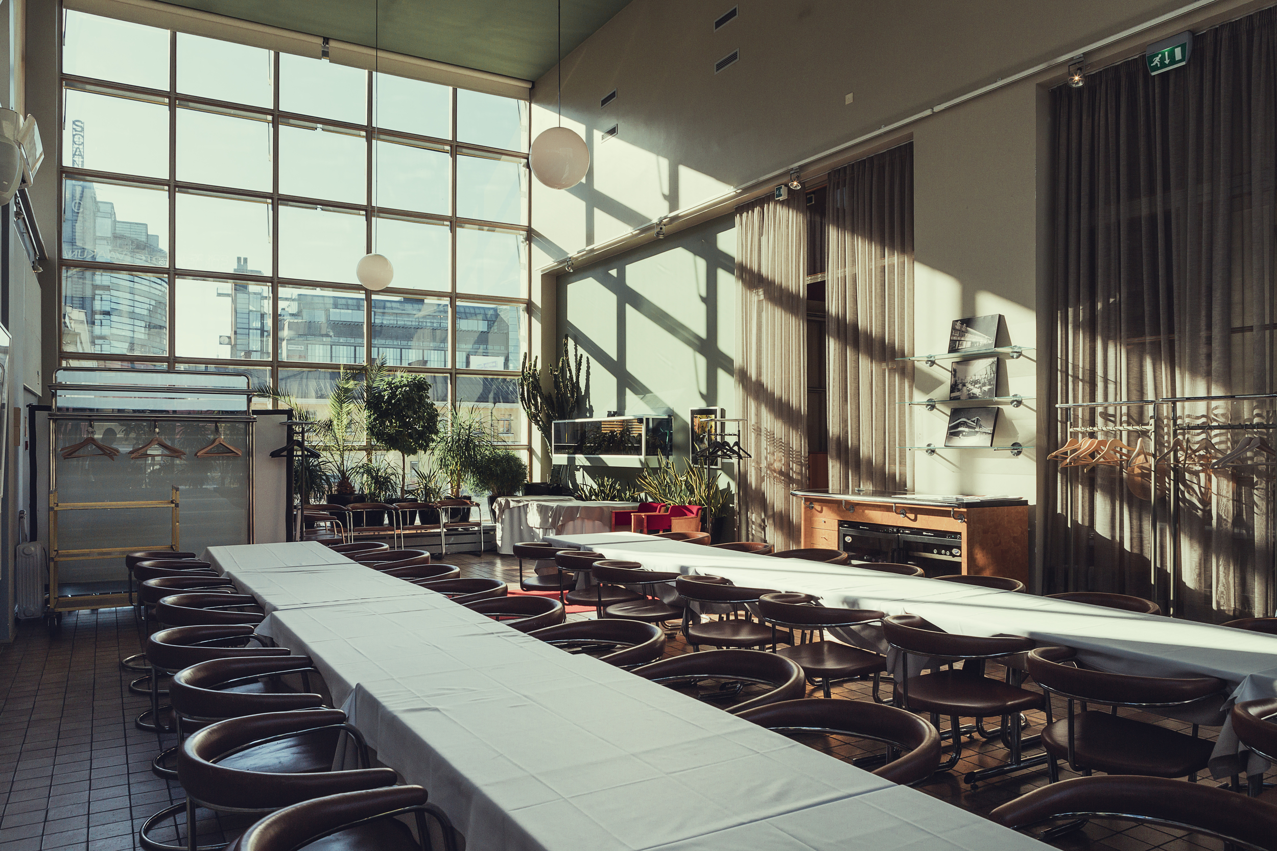 Restaurant Lasipalatsi conference room