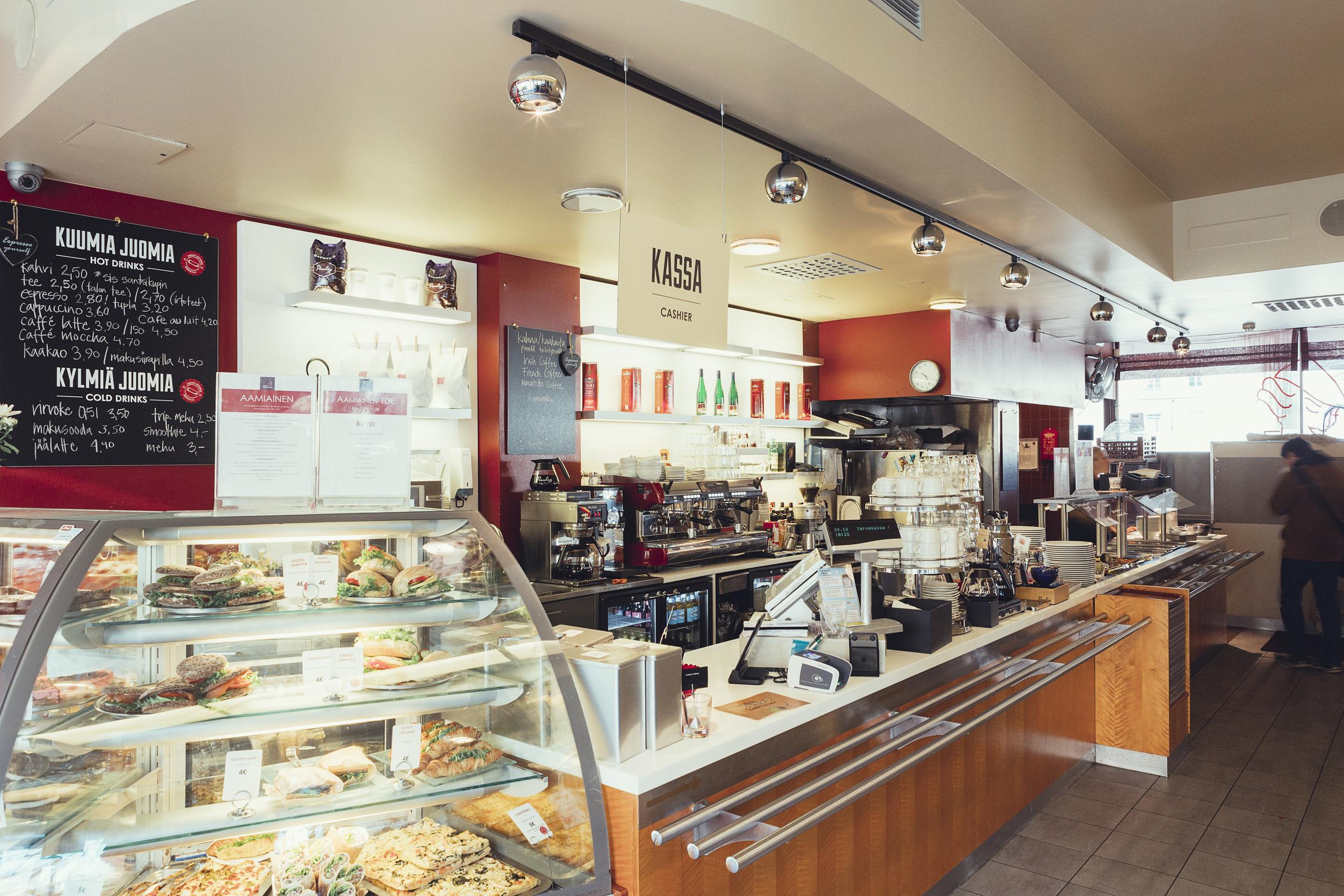 Inside Cafe Lasipalatsi