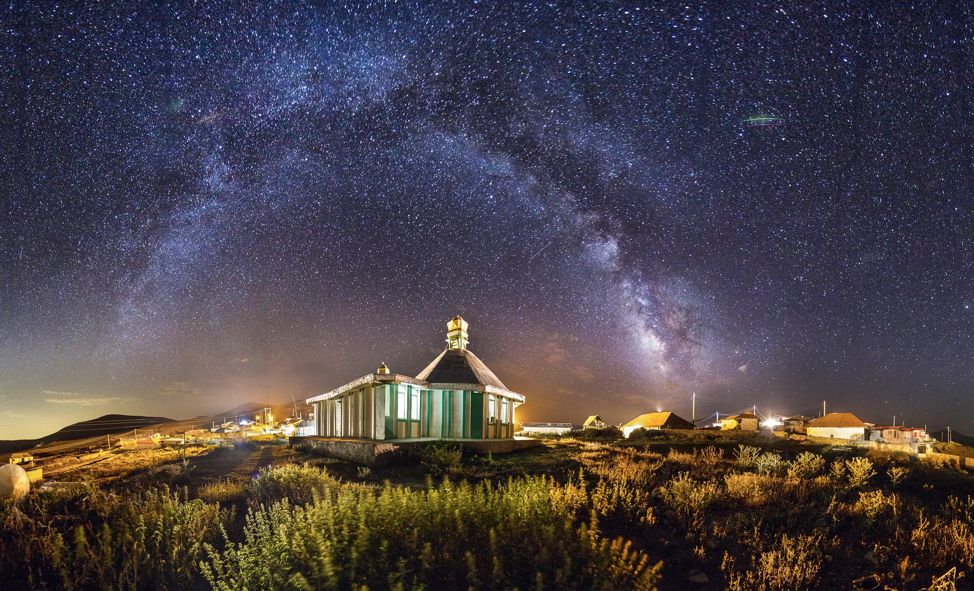 Emam Zadeh Hassan at night - Mazandaran.jpg