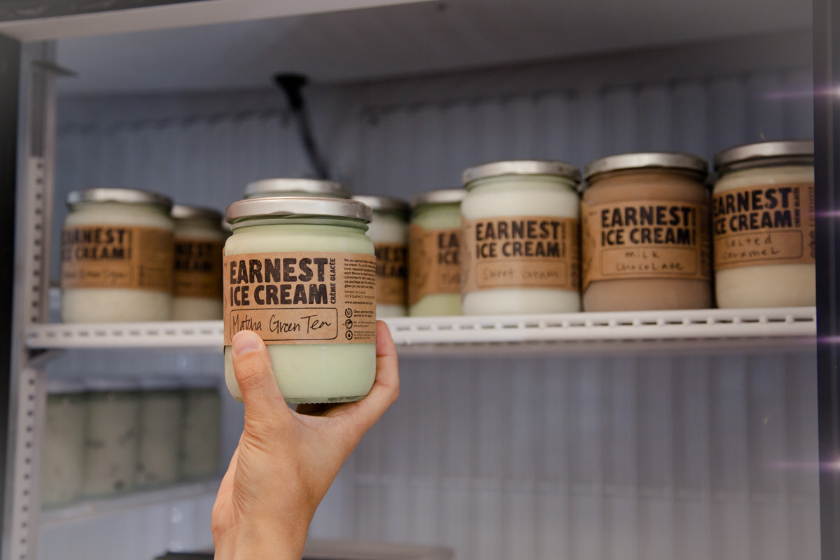 Nada Grocery are one of the Vancouver stores who stock Earnest Ice Cream. Photo credit: Maxine Bulloch