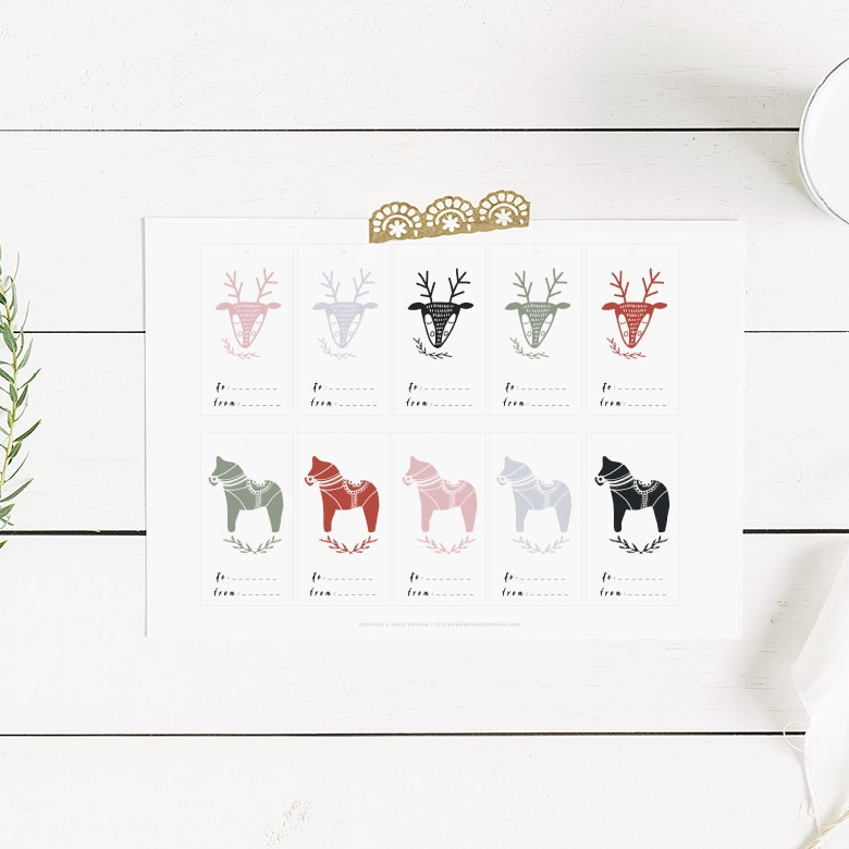 Free Holiday Tags - Free Printable Holiday Tags. I can't think of a better way to end the 2017 year than with a freebie.READ MORE →