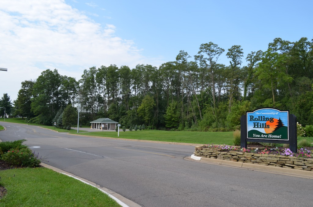 Entrance - Rolling Hills, Battle Creek Michigan