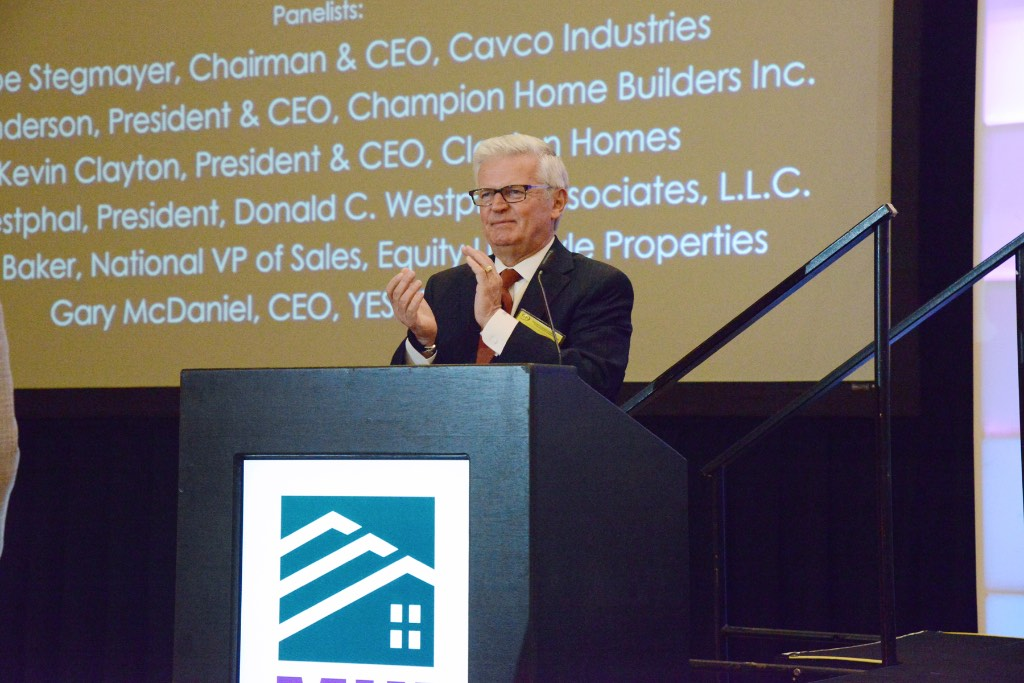 Moderator Dick Ernst of Financial Marketing Associates