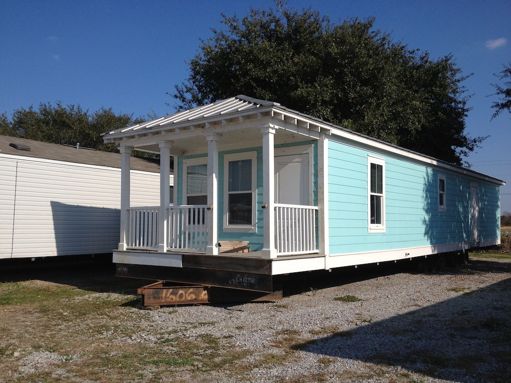 One of the MEMA Cottages designed after Hurricane Katrina