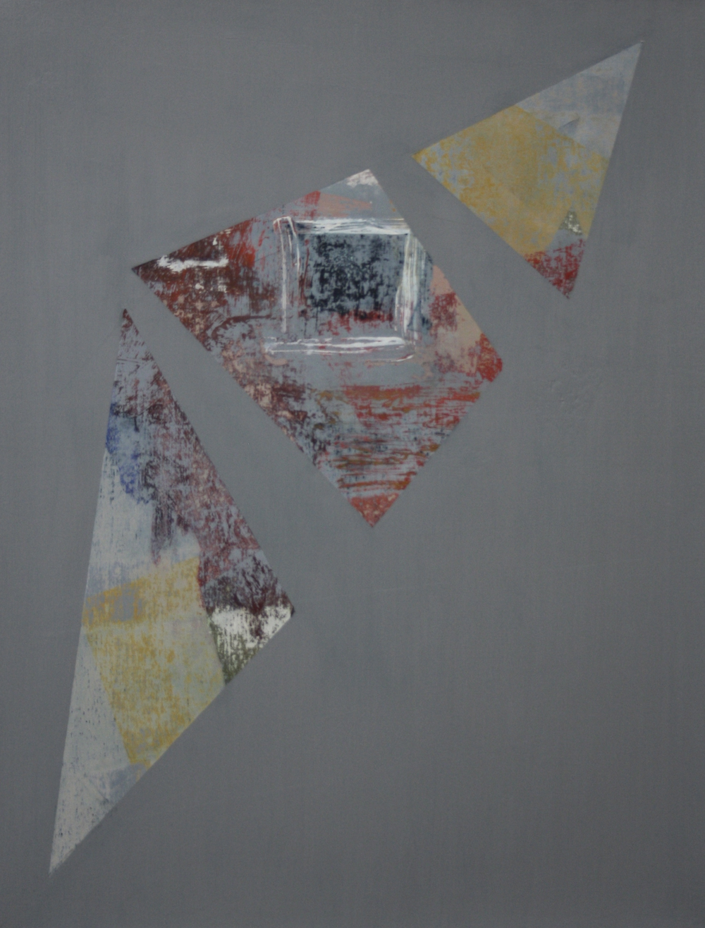 Degrees of Separation 2, 2010 – 2012, oil on canvas, 56 x 43 cm