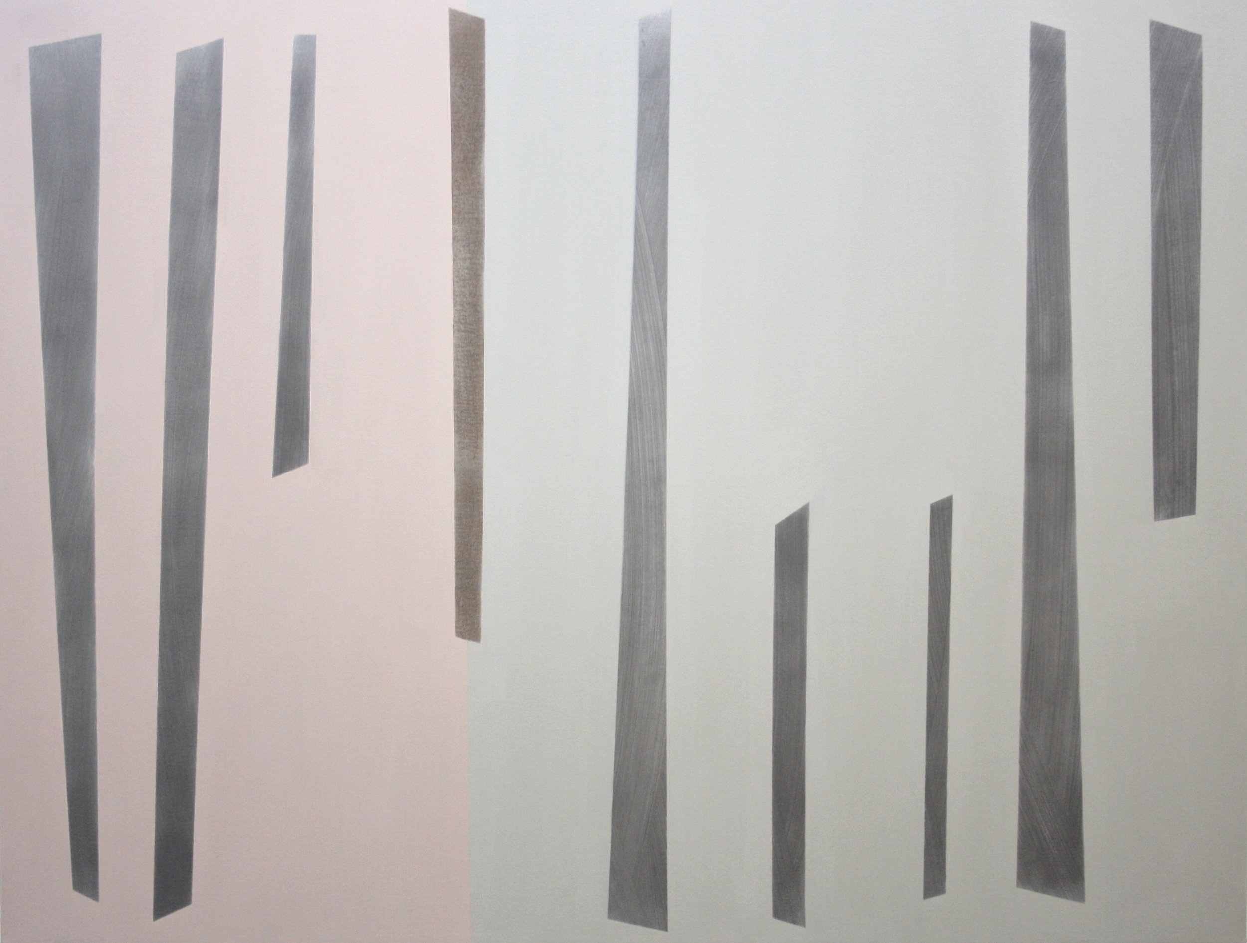 San Romano, 2010, acrylic and graphite on canvas, 84 x 110cm