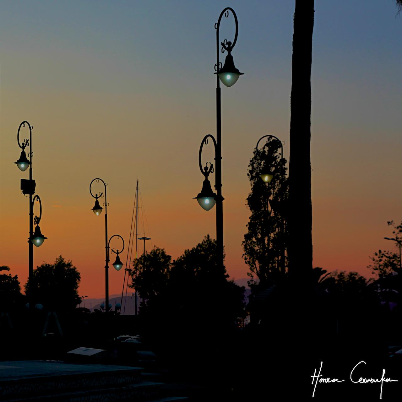 Corinth - nothing like a sunset