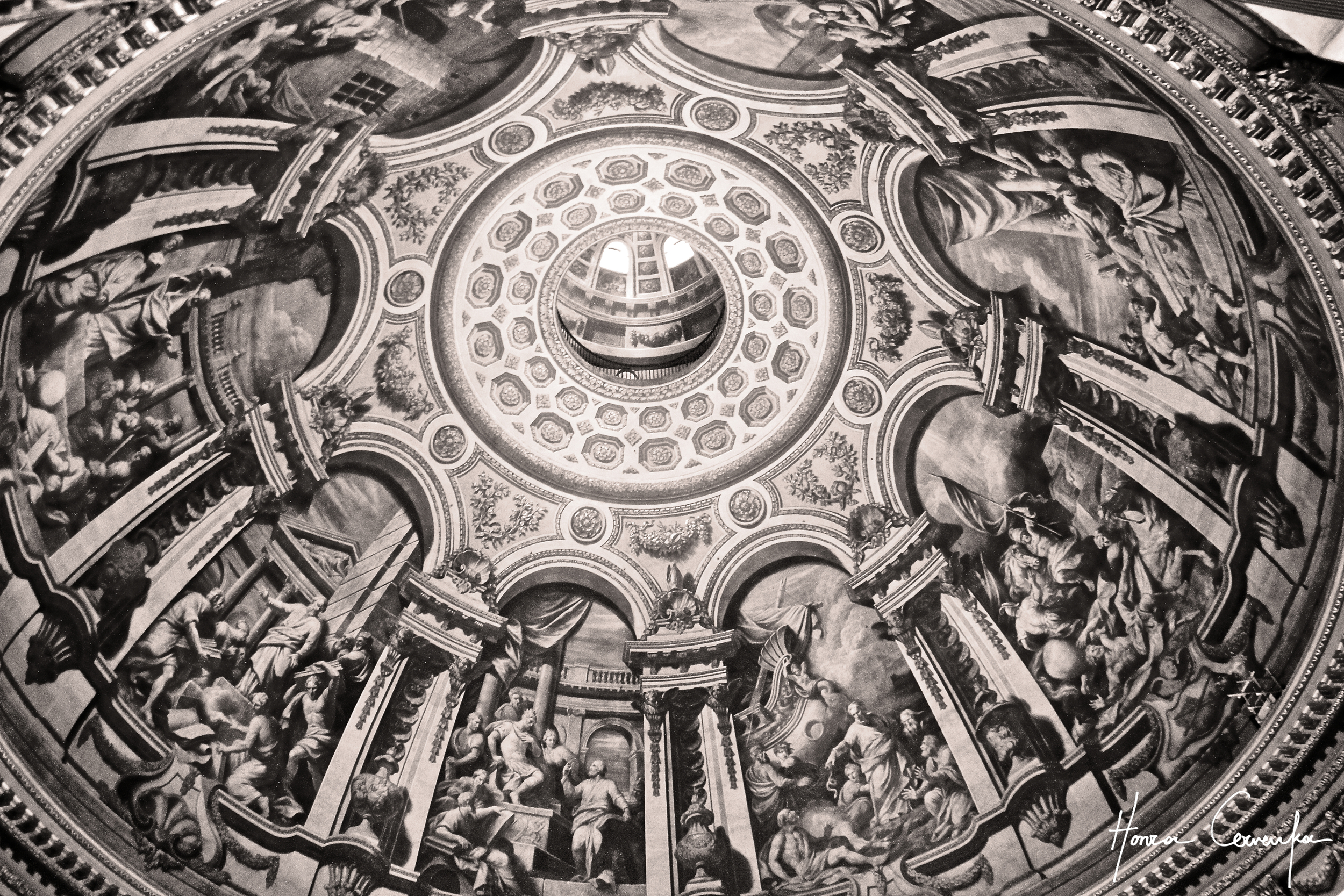 Saint Paul's Cathedral Dome, London, England, 2014