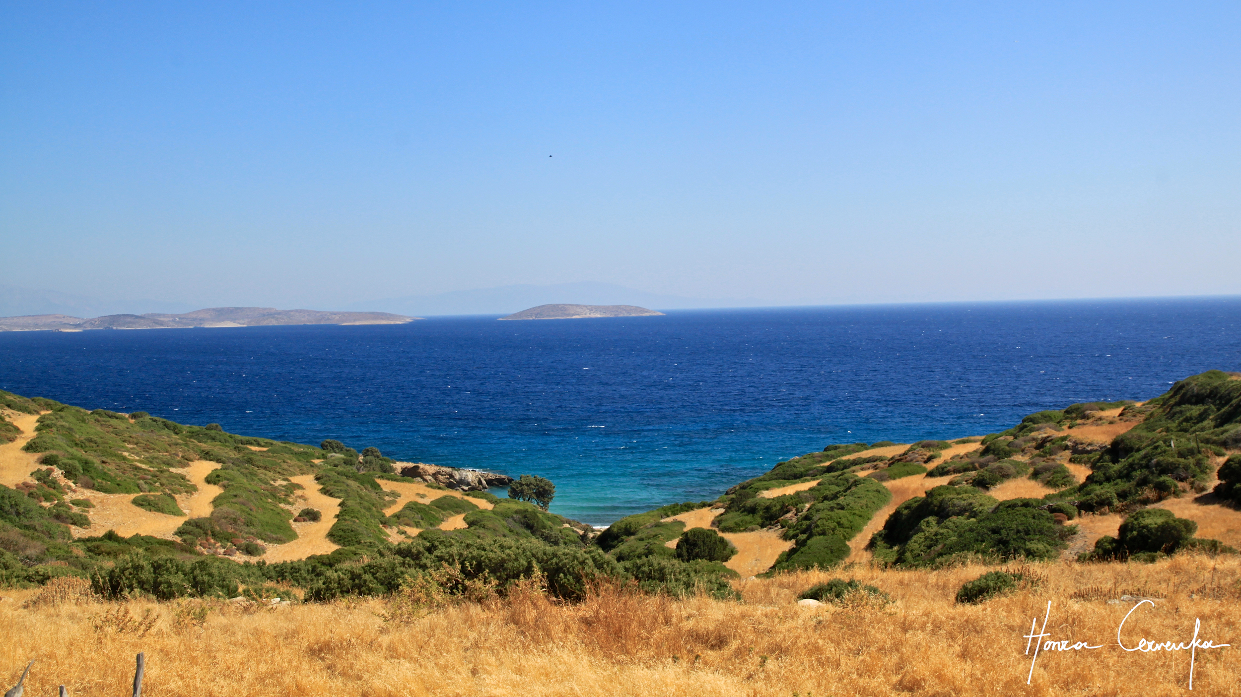 What a vista: Can you see Turkey at the horizon?