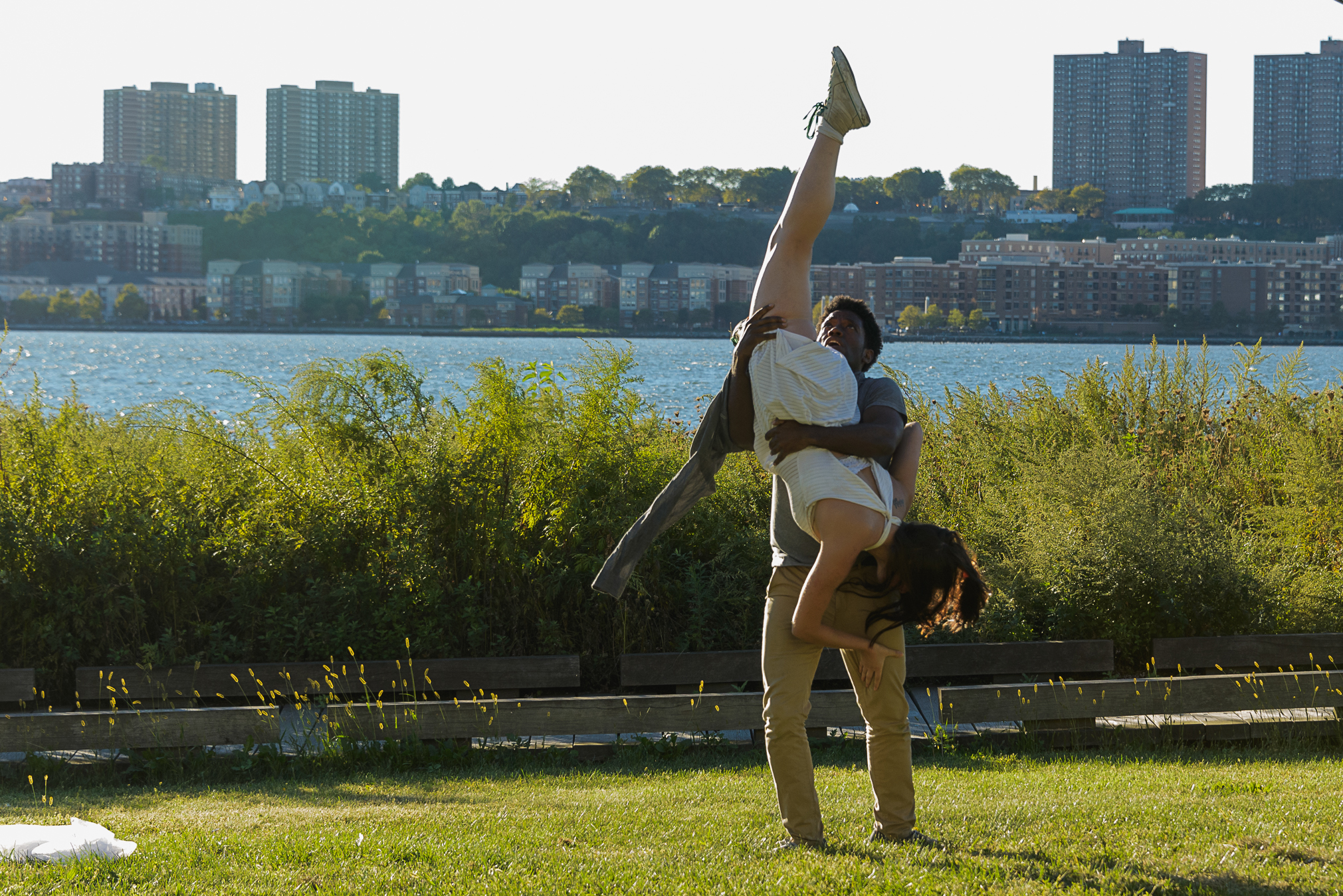 Photo by Darial Sneed  With Chinaza Uche in  You Know I'll Take You There  (Witness Relocation)