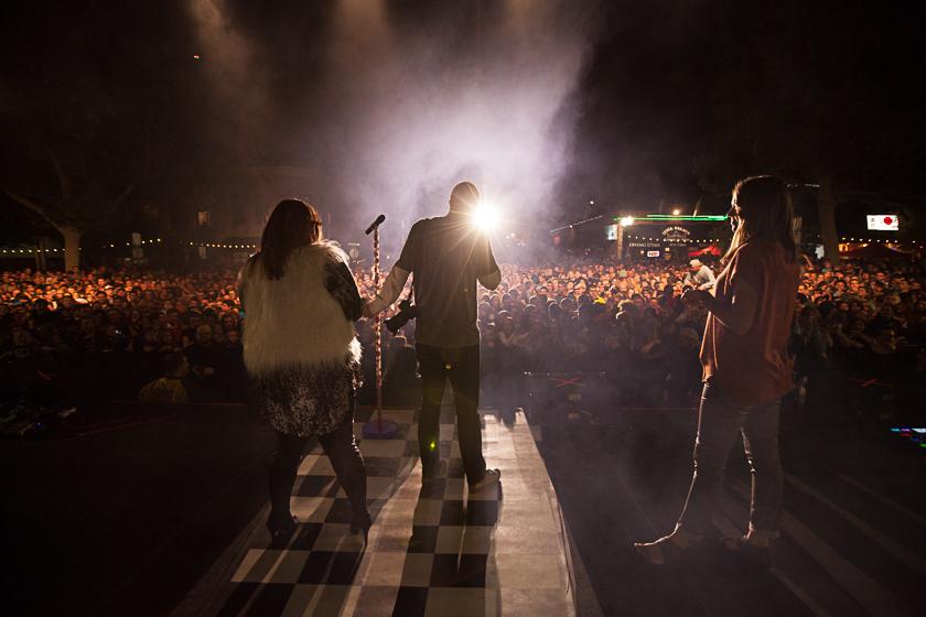 Cjane Kendrick, Justin Hackworth, Sarah Wiley. Photo by Leah Naomi.