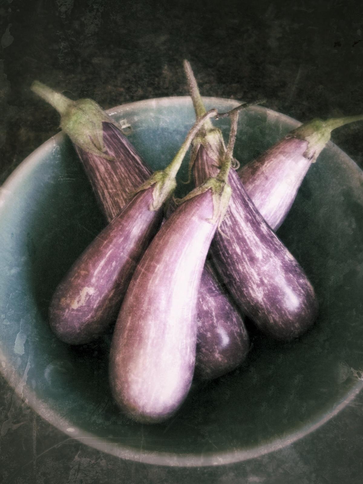 market eggplant