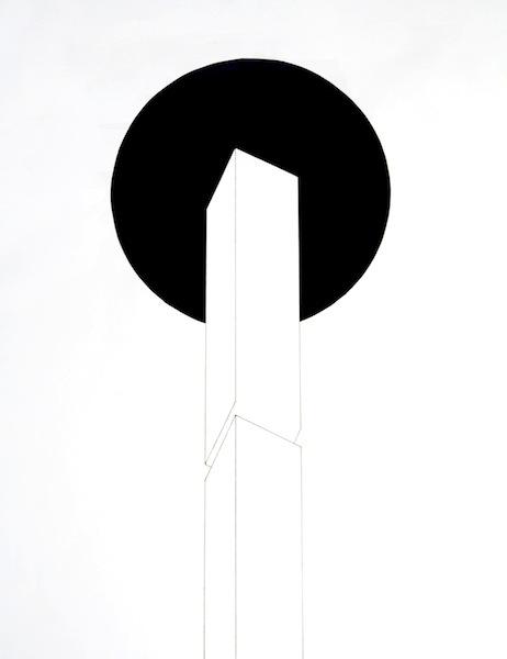 tempera, ink, graphite on paper  2011