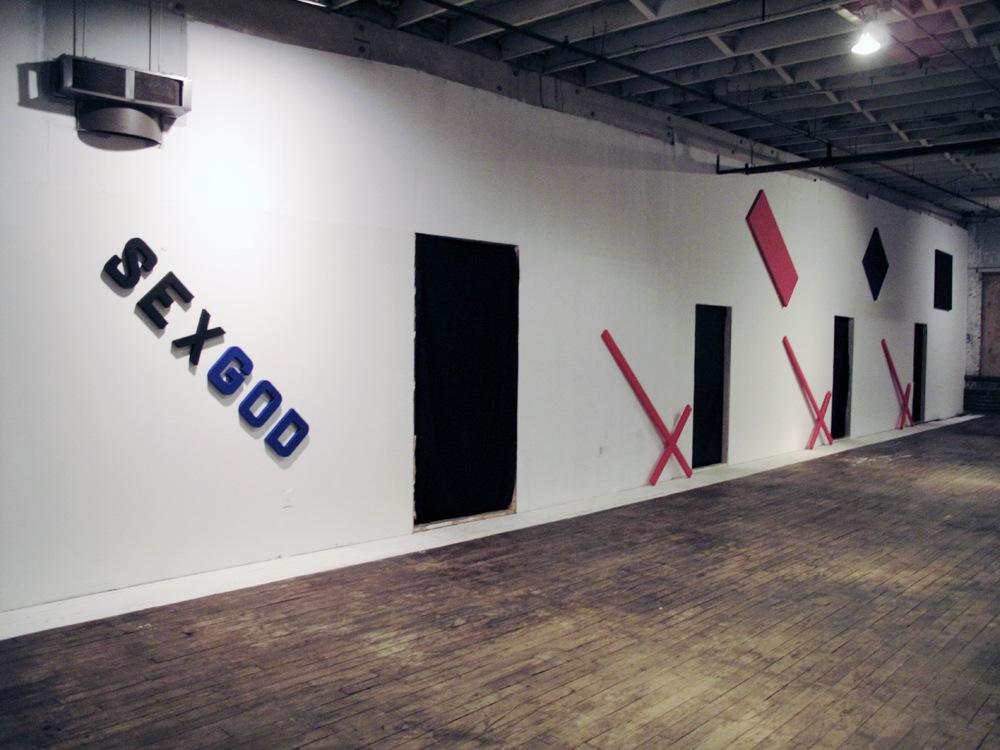 installation view V  2010