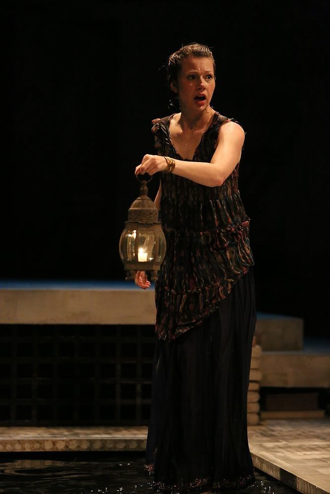 Alcyone in  Metamorphoses  -  PlayMakers Rep  2013 - Photos by Michal Daniel