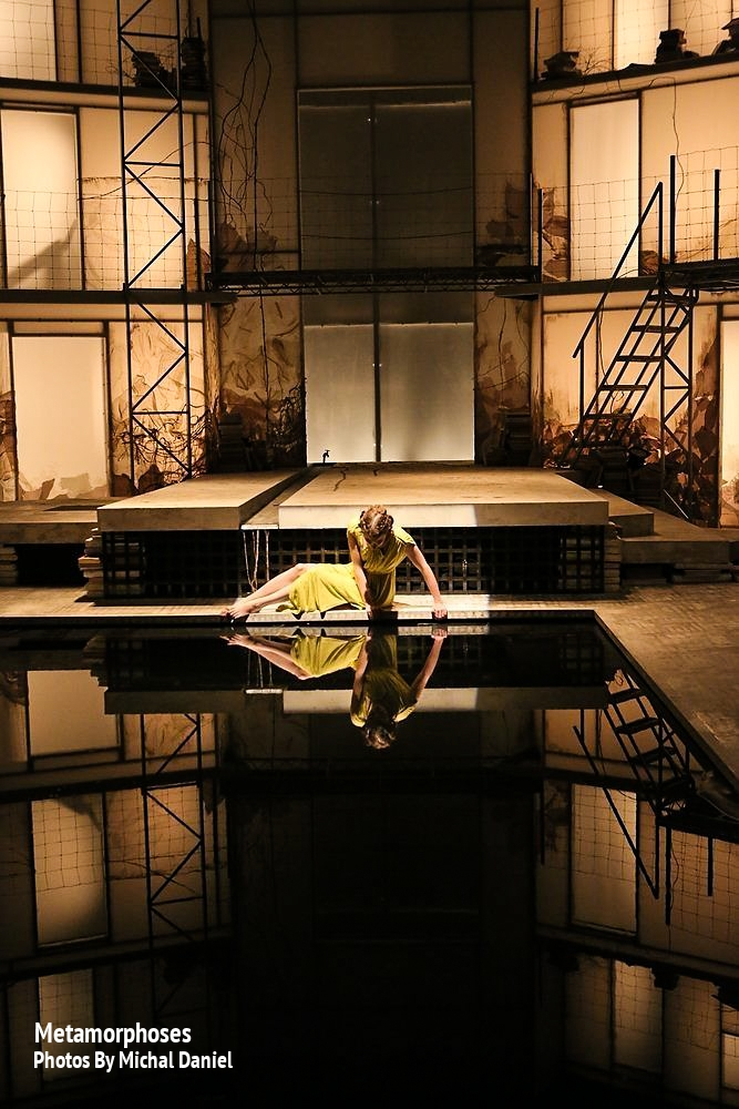 Woman 1 in  Metamorphoses -   PlayMakers Rep  2013 - Photos by Michal Daniel
