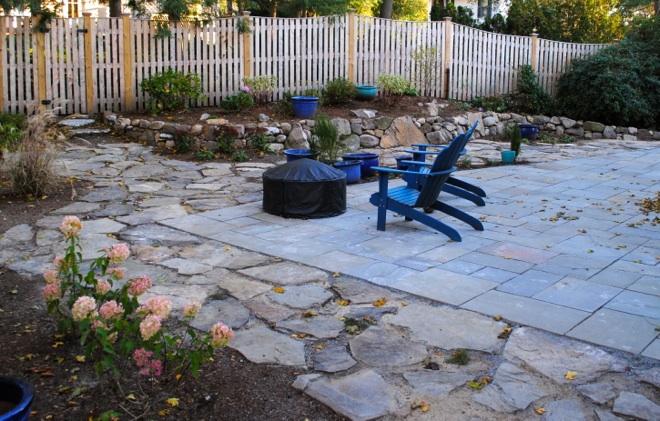 New Landscape Design and Garden Installation