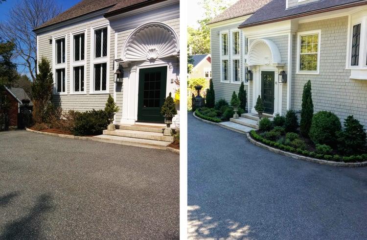 Before & After - Landscape Design