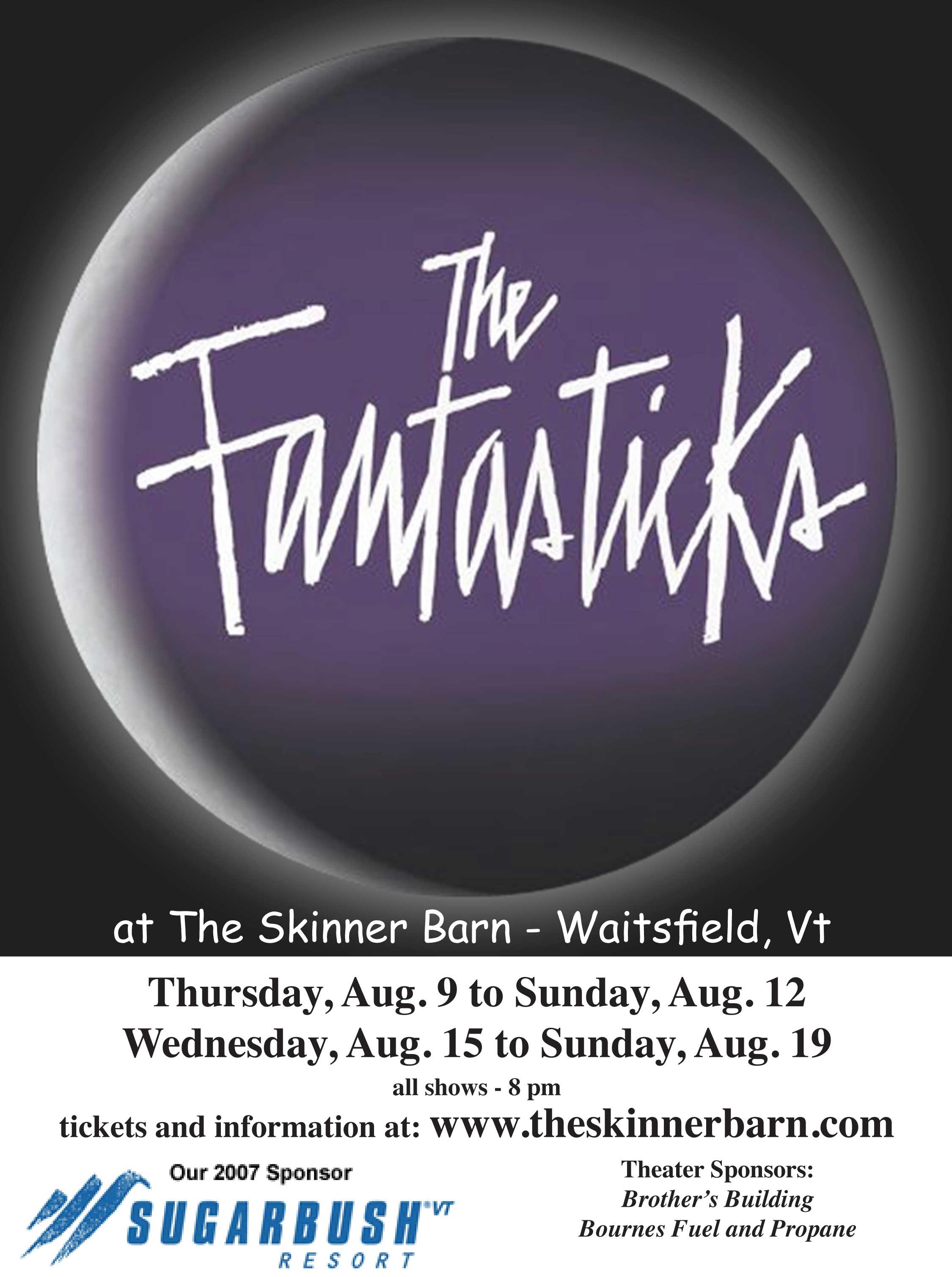 The Fantasticks•2007