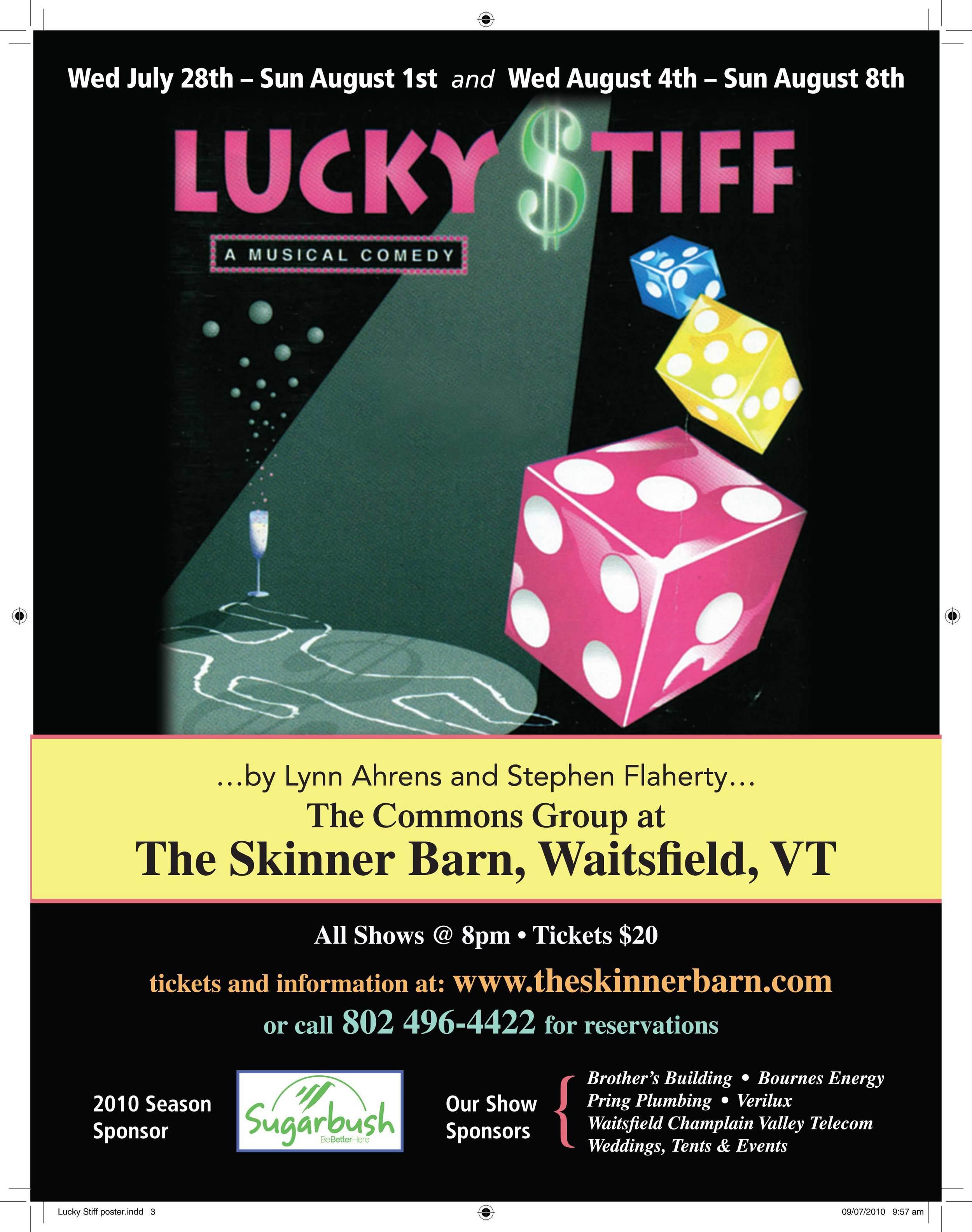 Lucky Stiff•2010