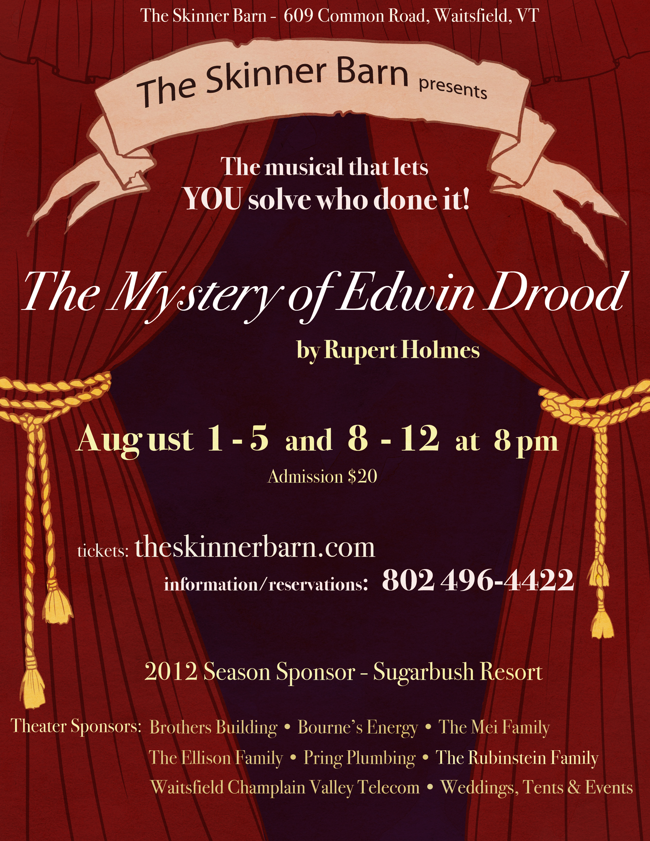 The Mystery of Edwin Drood•2012