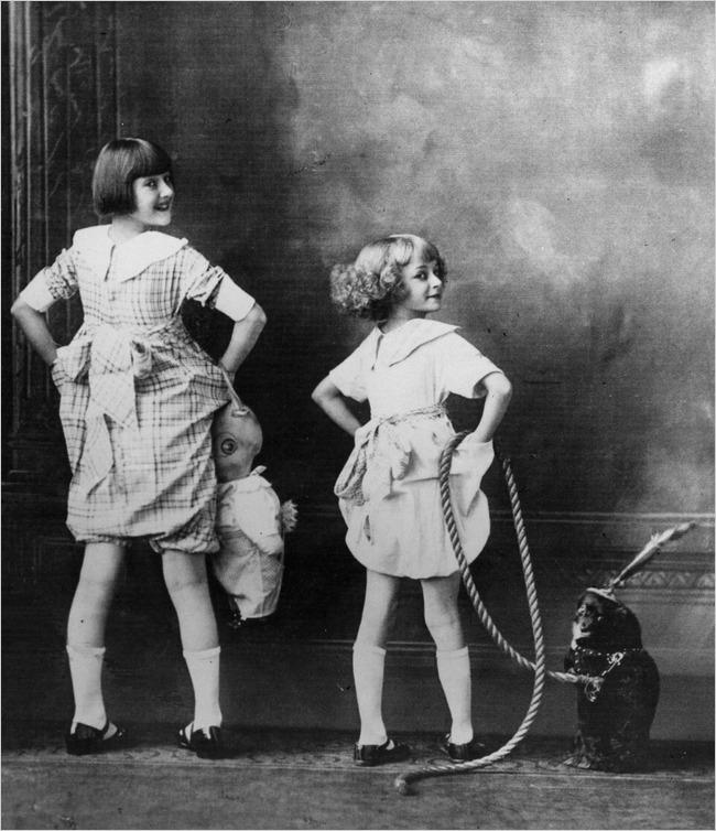 young Gypsy Ropse Lee & June Havoc.jpg