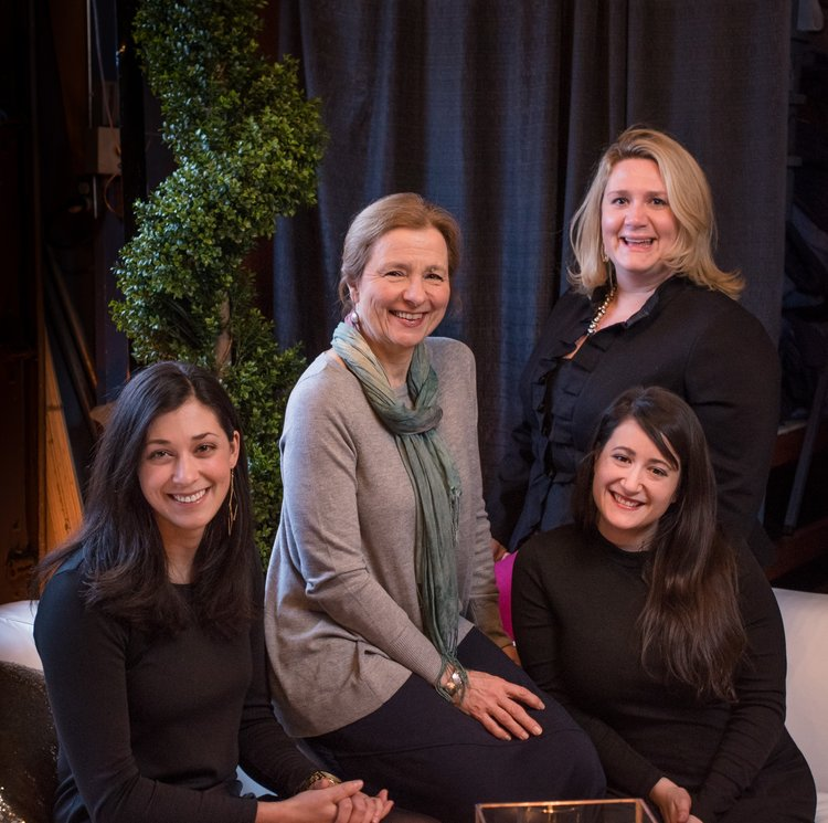 Coordinators: (L to R) Briana Duquette, Roberta O'Donnell, Emily Davis, & Kirsten Solomon