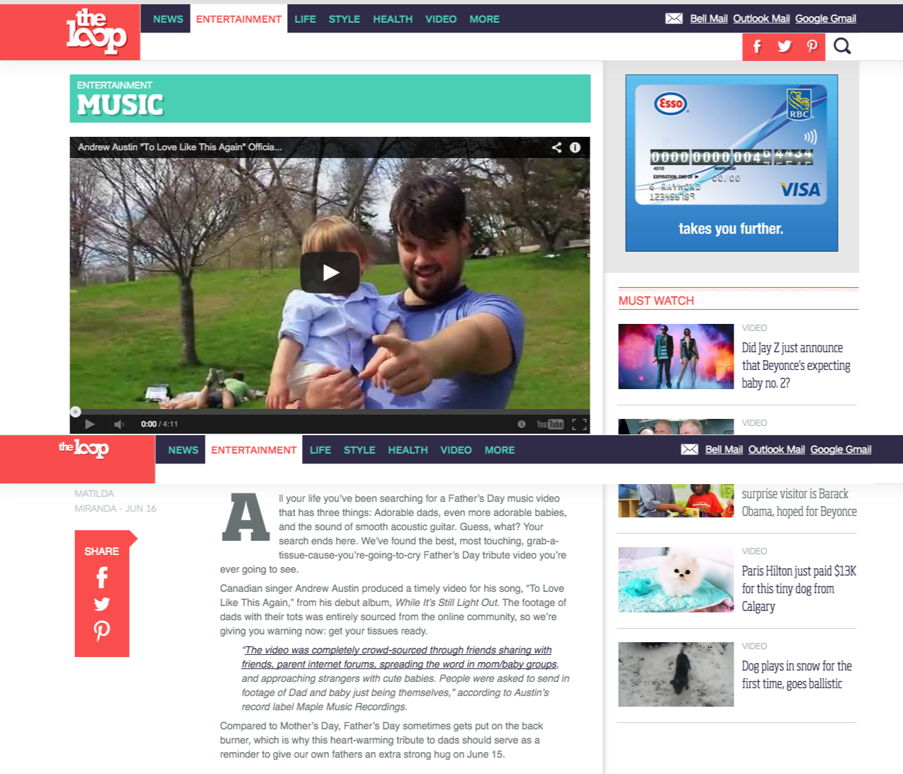 Dads, babies and acoustic guitar  The world's most adorable combination   The Loop.png