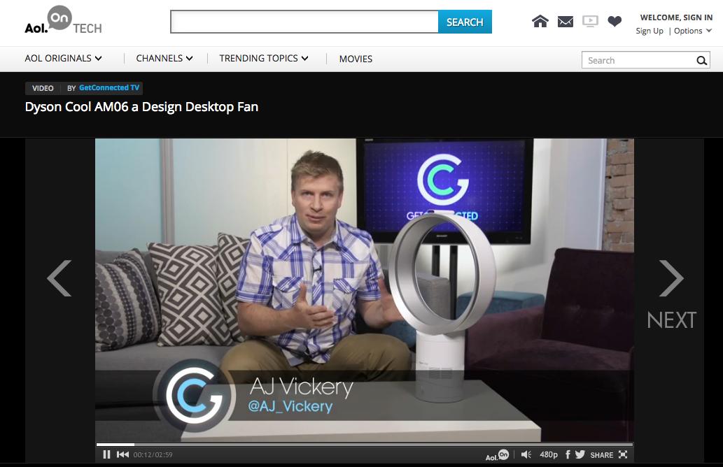 Dyson Cool Fan on AOL.ca TECH