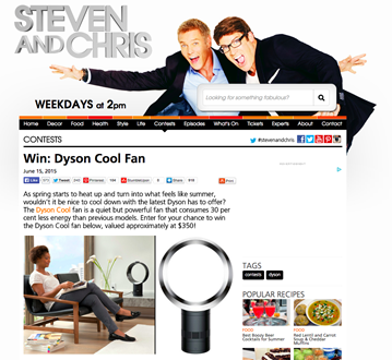 Steven & Chris Giveaway on CBC