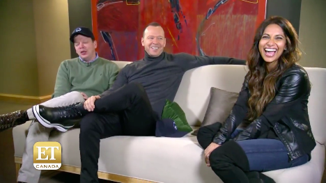 Wahlburgers on ET Canada