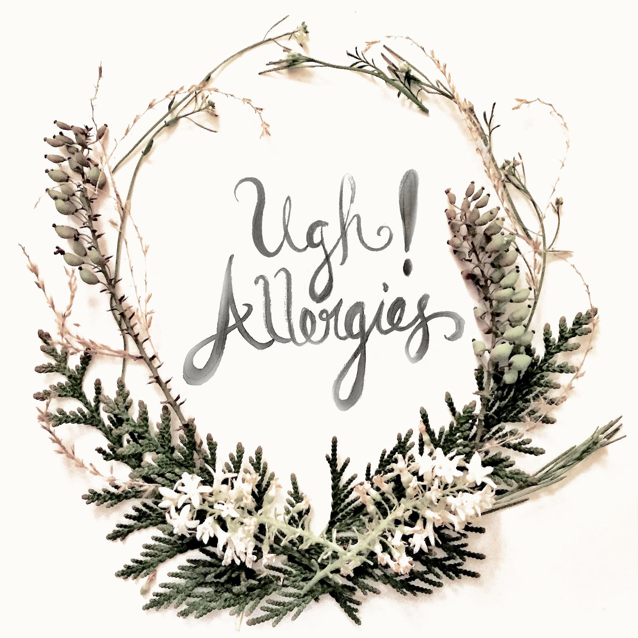Allergy Wreath